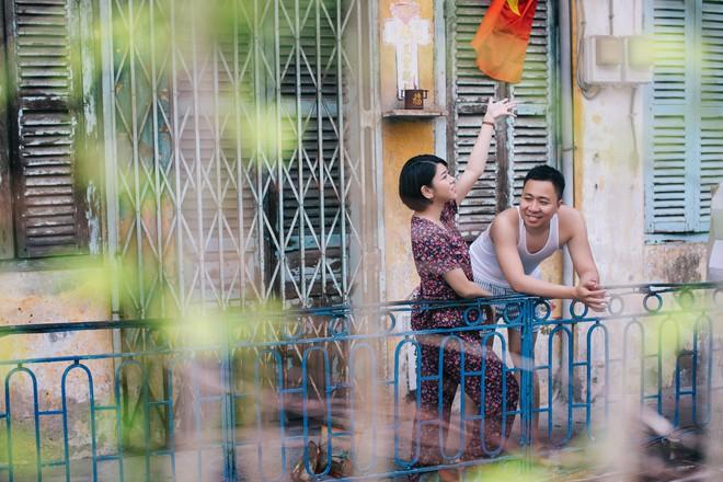Cặp đôi có chuyện tình không giống ai và quyết định chụp bộ ảnh cưới thời bao cấp đầy bá đạo - Ảnh 23.