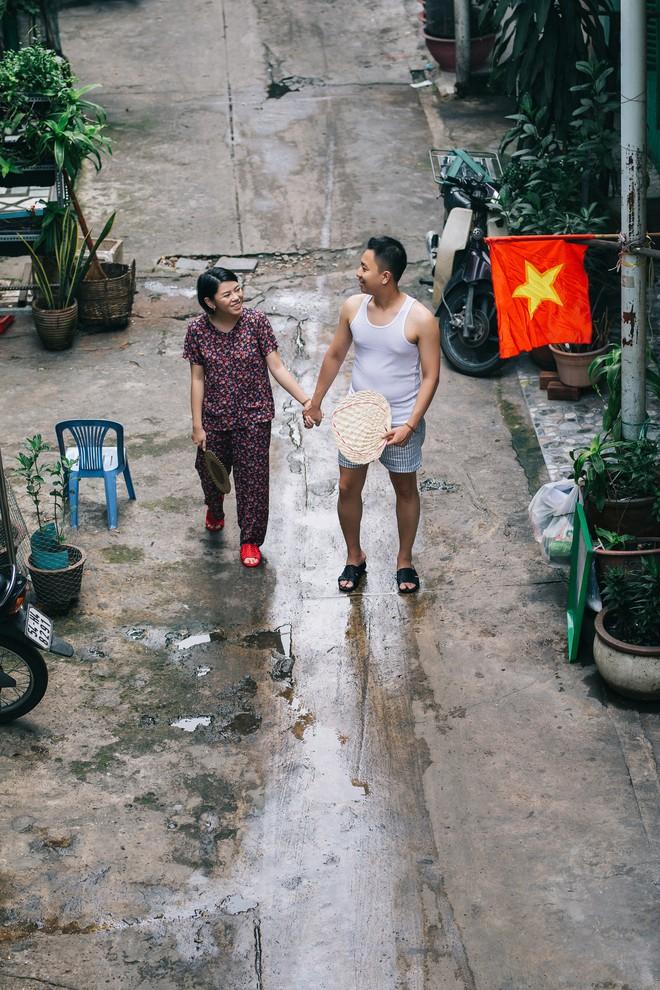 Cặp đôi có chuyện tình không giống ai và quyết định chụp bộ ảnh cưới thời bao cấp đầy bá đạo - Ảnh 20.