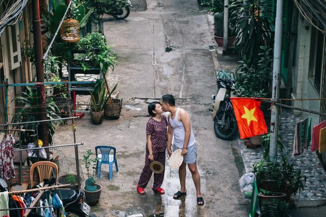Cặp đôi có chuyện tình không giống ai và quyết định chụp bộ ảnh cưới thời bao cấp đầy bá đạo - Ảnh 7.
