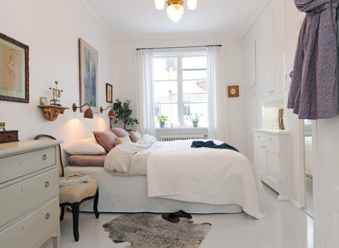 Những ý tưởng trang trí cho phòng ngủ nhỏ cực đáng yêu - Ảnh 1.