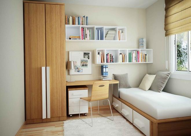 Những ý tưởng trang trí cho phòng ngủ nhỏ cực đáng yêu - Ảnh 10.