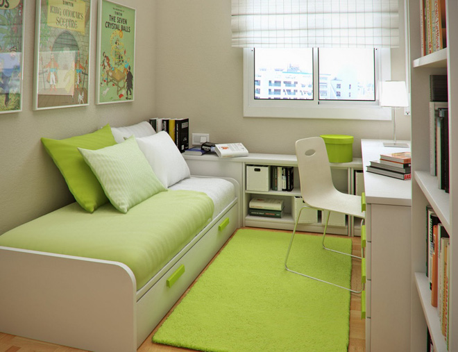 Những ý tưởng trang trí cho phòng ngủ nhỏ cực đáng yêu - Ảnh 12.