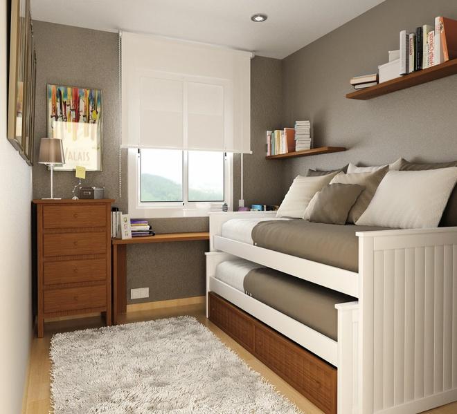 Những ý tưởng trang trí cho phòng ngủ nhỏ cực đáng yêu - Ảnh 13.