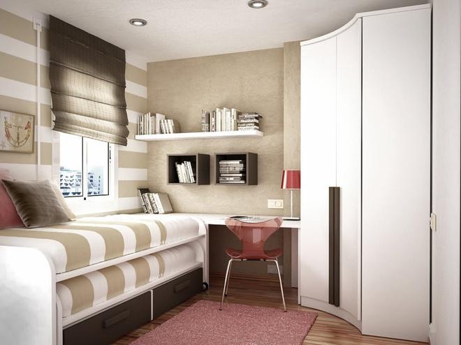 Những ý tưởng trang trí cho phòng ngủ nhỏ cực đáng yêu - Ảnh 14.