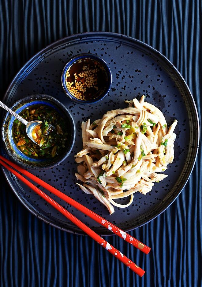Nếu bạn đang ăn kiêng, bữa trưa chỉ cần món gà trộn này với chút rau củ là đủ rồi! - Ảnh 5.