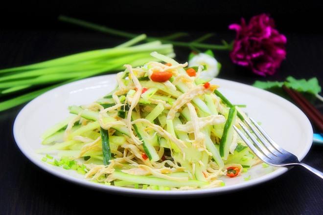 Salad dưa leo thịt gà giòn ngon chua ngọt ai cũng mê - Ảnh 6.