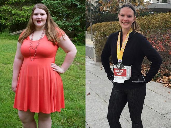 Từ 111,5kg, cô gái này không ngờ mình có thể giảm cân được nhiều đến thế và trở thành vận động viên chạy bộ - Ảnh 5.