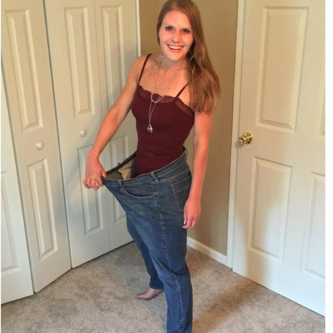 Từ 111,5kg, cô gái này không ngờ mình có thể giảm cân được nhiều đến thế và trở thành vận động viên chạy bộ - Ảnh 4.