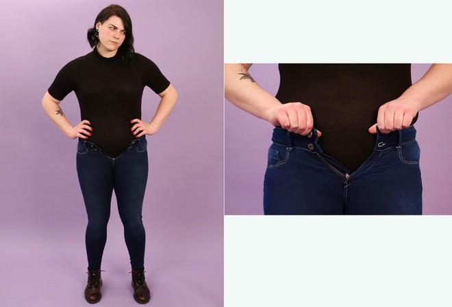 6 cô nàng này đã thử chiếc quần jeans được quảng cáo là vừa mọi kích cỡ, và kết quả nhận được thật bất ngờ - Ảnh 8.