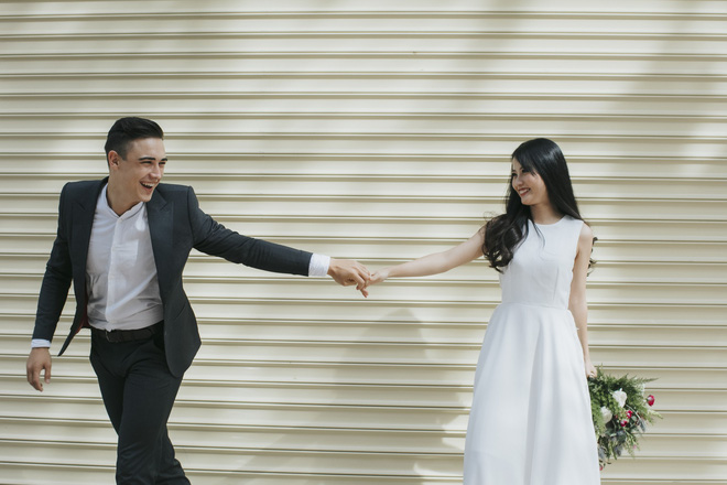 """Khiến MXH """"sục sôi"""" vì chụp ảnh cưới với chú rể đẹp như tài tử, cô dâu tiết lộ chuyện tình 1 năm ngọt ngào - Ảnh 7."""