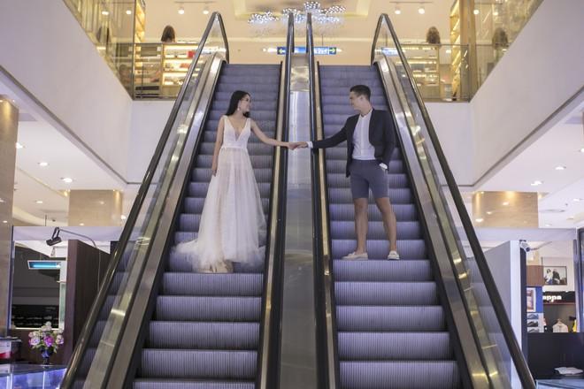 """Khiến MXH """"sục sôi"""" vì chụp ảnh cưới với chú rể đẹp như tài tử, cô dâu tiết lộ chuyện tình 1 năm ngọt ngào - Ảnh 4."""