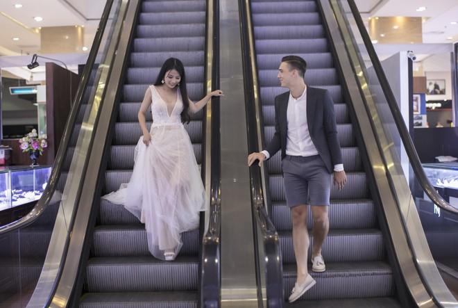 """Khiến MXH """"sục sôi"""" vì chụp ảnh cưới với chú rể đẹp như tài tử, cô dâu tiết lộ chuyện tình 1 năm ngọt ngào - Ảnh 3."""