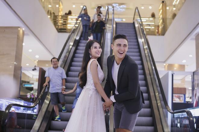 """Khiến MXH """"sục sôi"""" vì chụp ảnh cưới với chú rể đẹp như tài tử, cô dâu tiết lộ chuyện tình 1 năm ngọt ngào - Ảnh 2."""