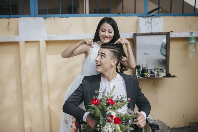 """Khiến MXH """"sục sôi"""" vì chụp ảnh cưới với chú rể đẹp như tài tử, cô dâu tiết lộ chuyện tình 1 năm ngọt ngào - Ảnh 14."""