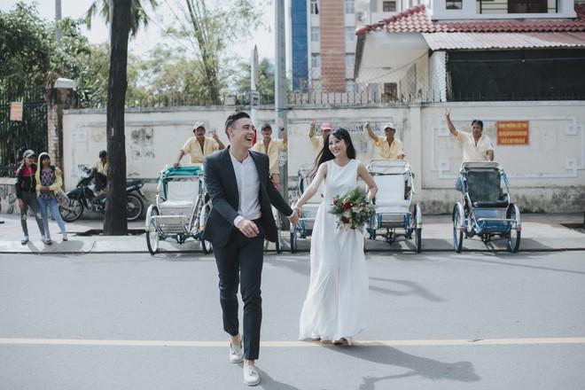 """Khiến MXH """"sục sôi"""" vì chụp ảnh cưới với chú rể đẹp như tài tử, cô dâu tiết lộ chuyện tình 1 năm ngọt ngào - Ảnh 13."""