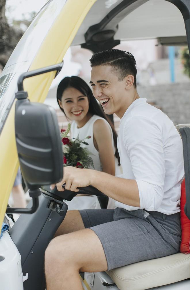 """Khiến MXH """"sục sôi"""" vì chụp ảnh cưới với chú rể đẹp như tài tử, cô dâu tiết lộ chuyện tình 1 năm ngọt ngào - Ảnh 8."""