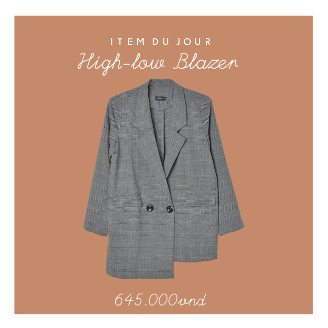 Những thiết kế blazer giá chưa quá 700 ngàn đến từ các thương hiệu Việt bạn cần sắm ngay trong thu này - Ảnh 4.