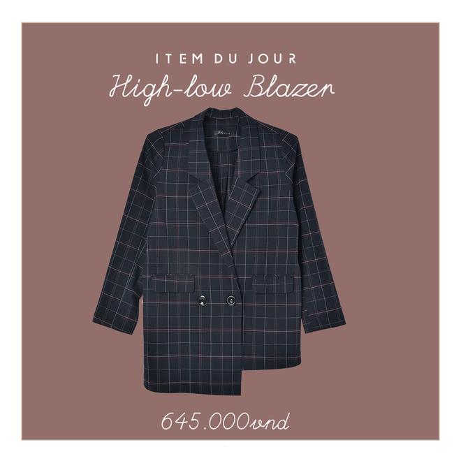 Những thiết kế blazer giá chưa quá 700 ngàn đến từ các thương hiệu Việt bạn cần sắm ngay trong thu này - Ảnh 2.