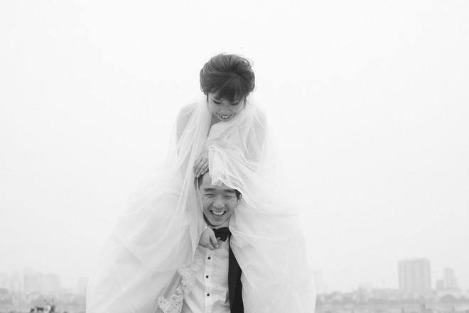 """Nhảy vòng quanh Hà Nội - ảnh cưới """"chất phát ngất"""" của cặp đôi vũ công """"chị ơi, em yêu chị"""" - Ảnh 9."""
