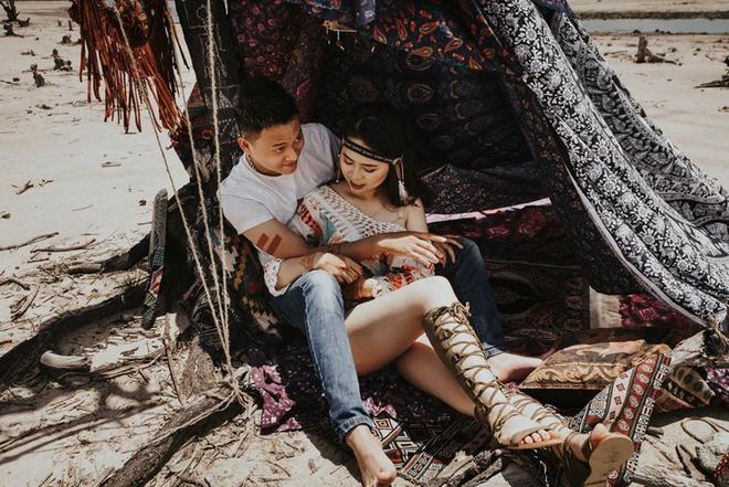 Cầu hôn nợ nhẫn và bộ ảnh cưới không giống ai của cặp đôi thích xách xe ăn vặt - Ảnh 9.