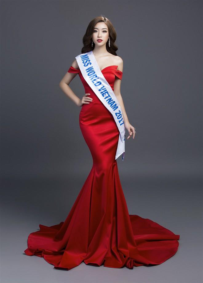 Mỹ Linh diện đầm đỏ hở vai đẹp kiêu sa sau khi dẫn đầu bình chọn online - Ảnh 2.