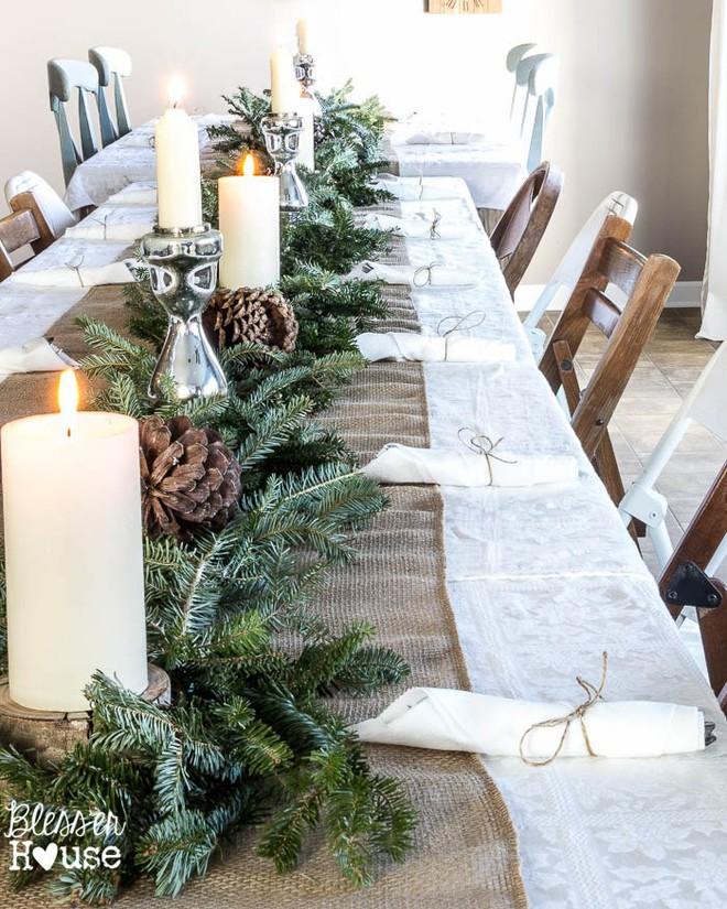 Trang trí bàn ăn thật lung linh và ấm cúng cho đêm Giáng sinh an lành - Ảnh 5.