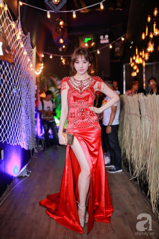 Hari Won lộng lẫy với váy đỏ khoe thân hình thon gọn - Ảnh 2.