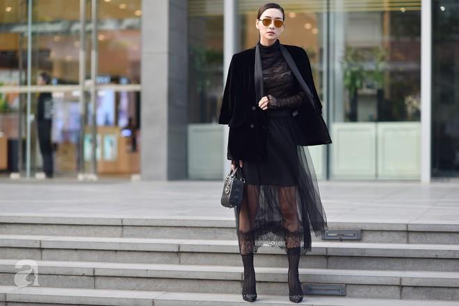 Chuyển lạnh một cái, là street style của các quý cô miền Bắc lại ngập tràn các loại áo len và áo khoác - Ảnh 4.