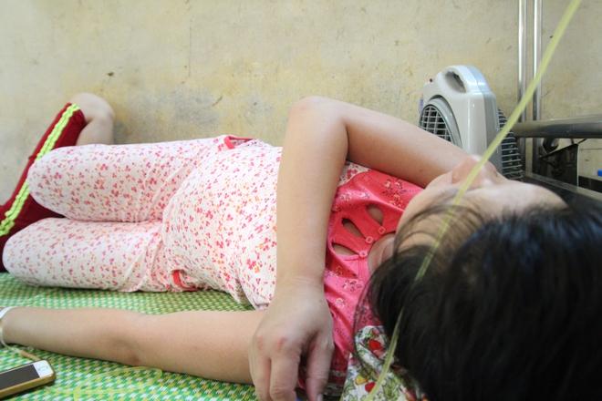 Hà Nội: Nhiều bà bầu nhập viện có biểu hiện mắc dịch sốt xuất huyết - ảnh 1