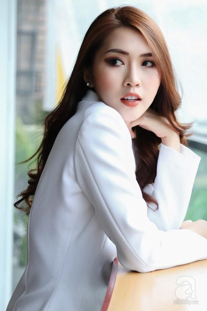Hoa hậu Tường Linh: Mỗi ngày ngủ được 2 tiếng, nói thí sinh The Face như hot girl kem trộn là thiếu công bằng! - Ảnh 5.