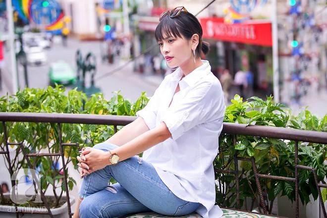 'Bồ mới' Phan Hải: Tôi đóng cảnh nóng với Việt Anh nhưng chưa từng trò chuyện với anh ấy ngoài đời! 5