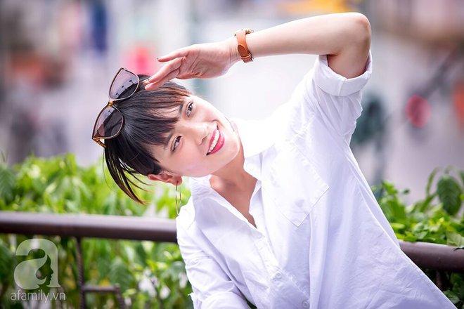 'Bồ mới' Phan Hải: Tôi đóng cảnh nóng với Việt Anh nhưng chưa từng trò chuyện với anh ấy ngoài đời! 9