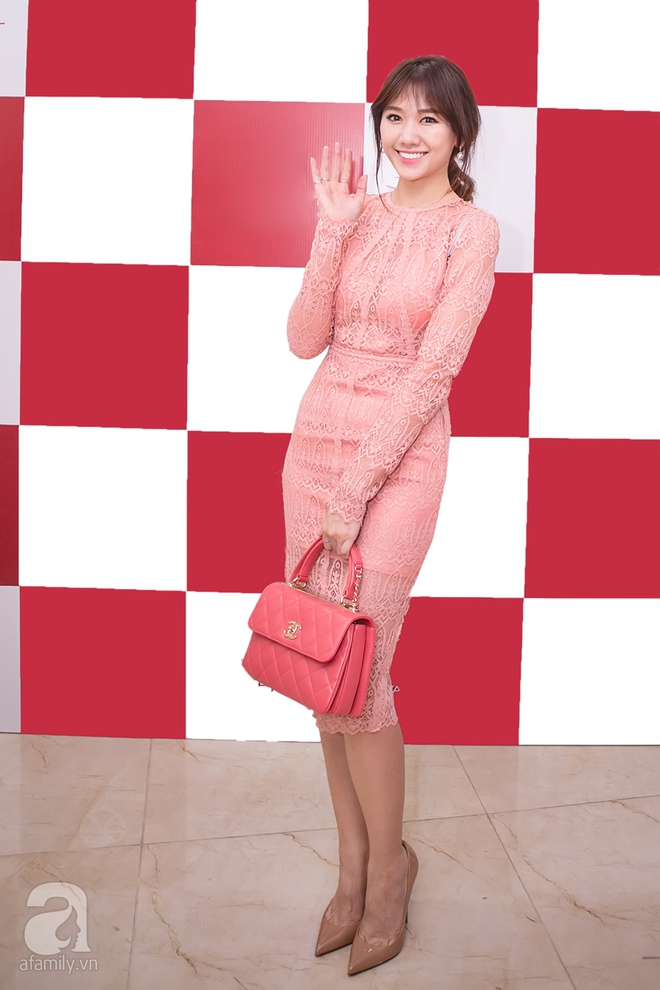Mặc đồ giản dị nhưng Hoa hậu Thu Thảo vẫn khiến mọi ánh nhìn xao xuyến - Ảnh 9.