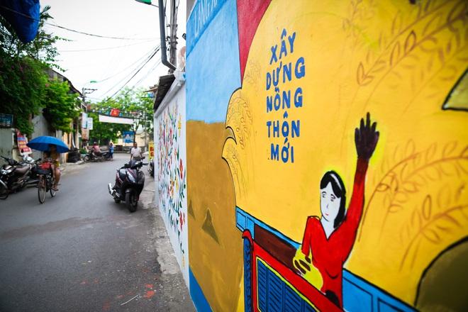 Sau Quảng Nam, Hà Nội đã có đường tranh bích hoạ vô cùng xinh đẹp. - Ảnh 5.