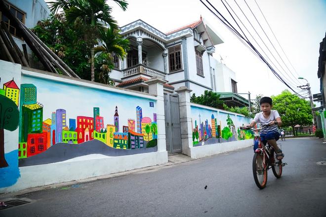 Sau Quảng Nam, Hà Nội đã có đường tranh bích hoạ vô cùng xinh đẹp. - Ảnh 7.