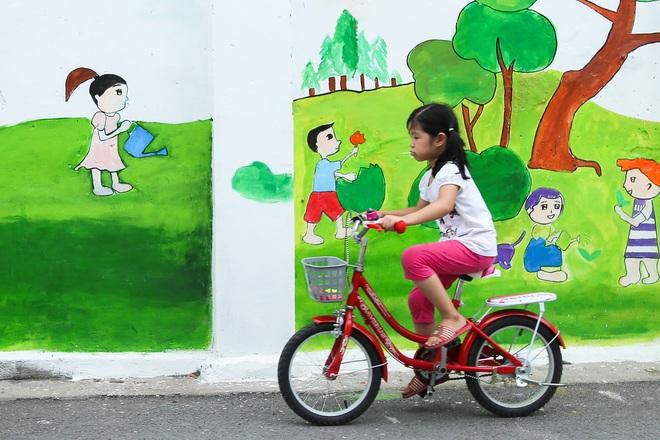 Sau Quảng Nam, Hà Nội đã có đường tranh bích hoạ vô cùng xinh đẹp. - Ảnh 8.
