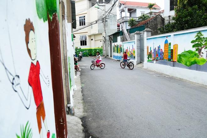 Sau Quảng Nam, Hà Nội đã có đường tranh bích hoạ vô cùng xinh đẹp. - Ảnh 9.