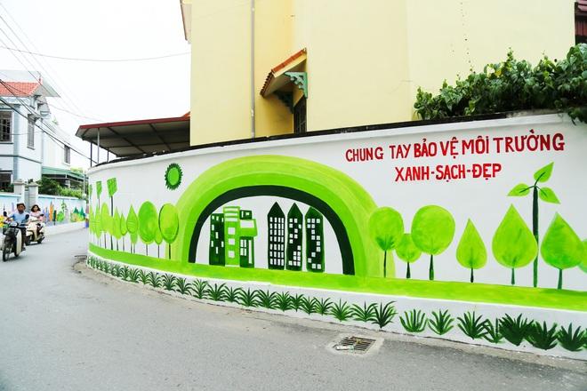 Sau Quảng Nam, Hà Nội đã có đường tranh bích hoạ vô cùng xinh đẹp. - Ảnh 4.