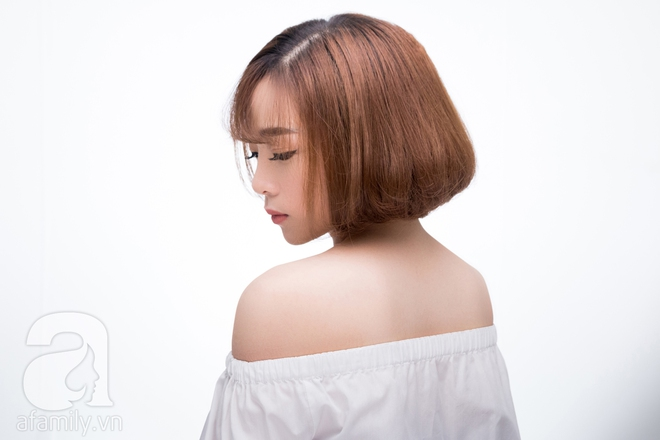 Mái tóc ngắn dù mỏng, thưa thớt cũng dày bồng bềnh hơn hẳn với 3 cách tạo kiểu đơn giản - Ảnh 4.