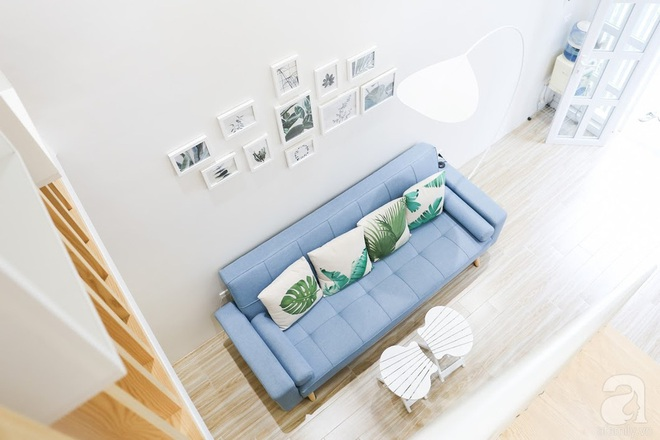 8 mẫu sofa nhỏ đẹp long lanh mà cực hợp cho nhà chật - Ảnh 4.