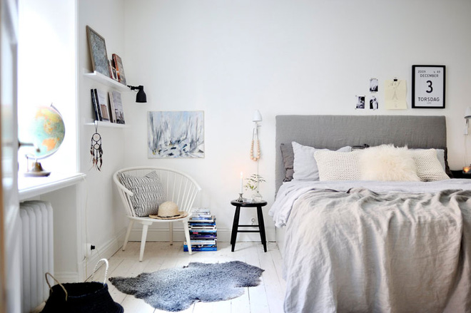Muốn có phòng ngủ chuẩn phong cách Scandinavian thì không thể bỏ qua 4 điều này - Ảnh 12.