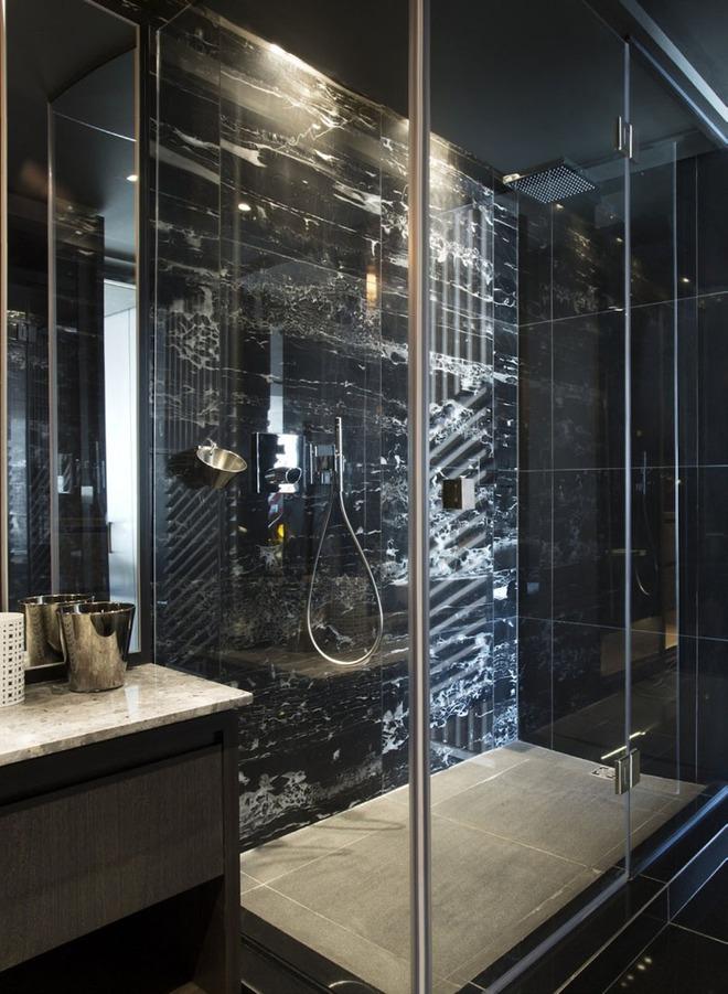 5 cách làm nhà tắm đẹp lên tức khắc nhờ đá cẩm thạch - Ảnh 7.
