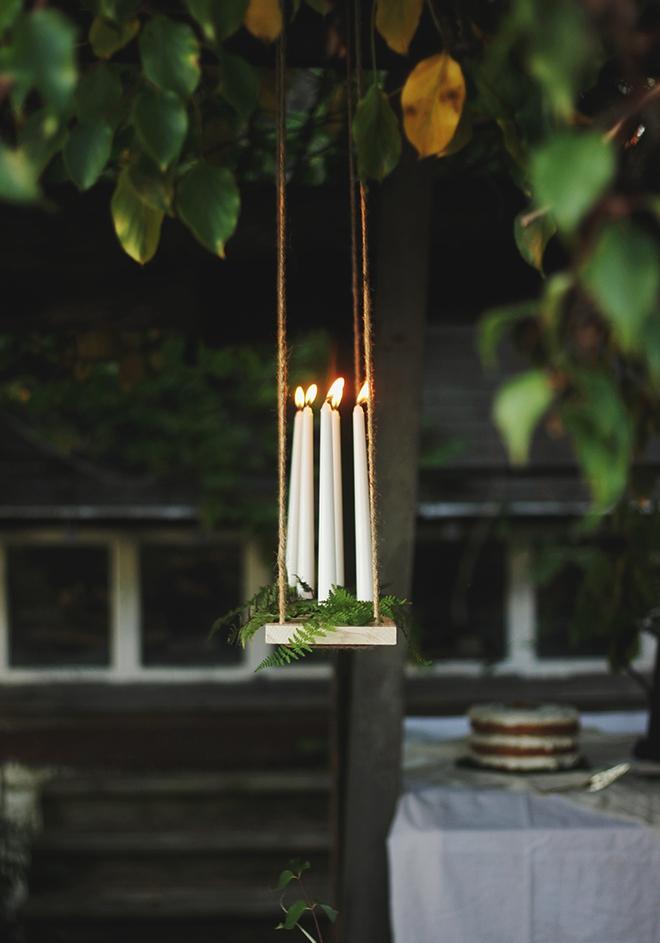 7 mẫu đèn chùm thả trần độc đáo bạn có thể mua hoặc tự làm một cách đơn giản - Ảnh 6.