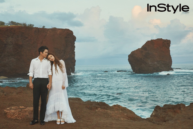 Ngắm ảnh cưới lãng mạn của Cha Ye Ryun và Joo Sang Wook tại Hawaii  - Ảnh 2.