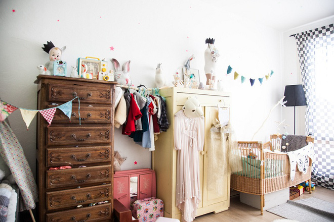 Góc học lỏm: Biến tấu phòng ngủ của bé theo phong cách vintage vô cùng hấp dẫn - Ảnh 1.
