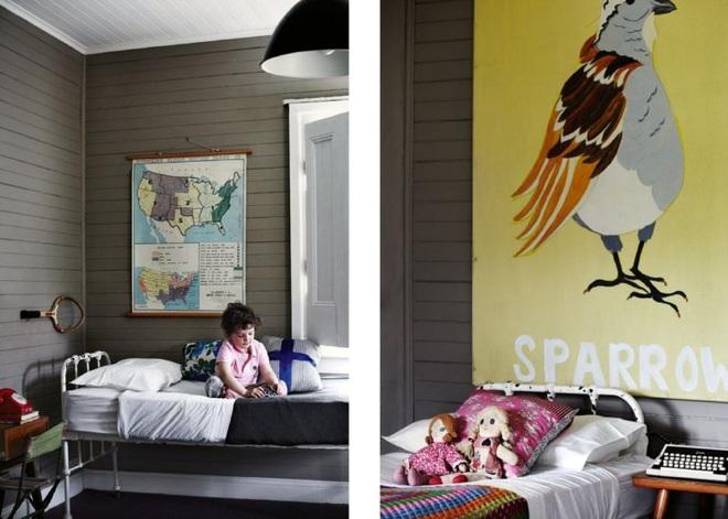 Góc học lỏm: Biến tấu phòng ngủ của bé theo phong cách vintage vô cùng hấp dẫn - Ảnh 3.
