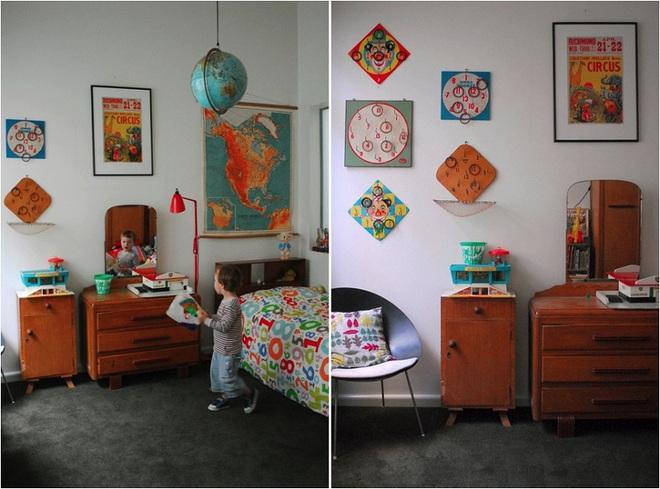 Góc học lỏm: Biến tấu phòng ngủ của bé theo phong cách vintage vô cùng hấp dẫn - Ảnh 4.