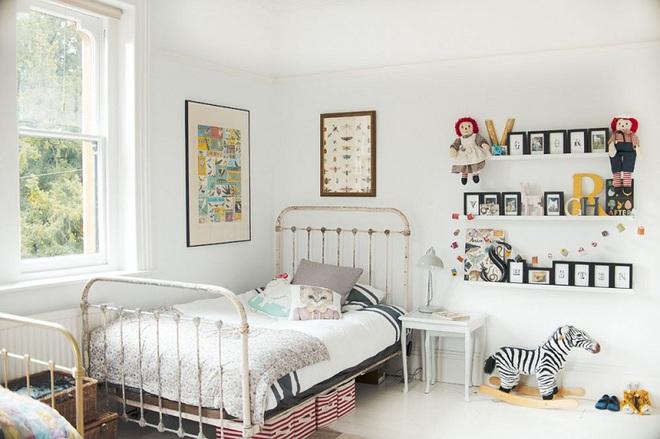 Góc học lỏm: Biến tấu phòng ngủ của bé theo phong cách vintage vô cùng hấp dẫn - Ảnh 8.