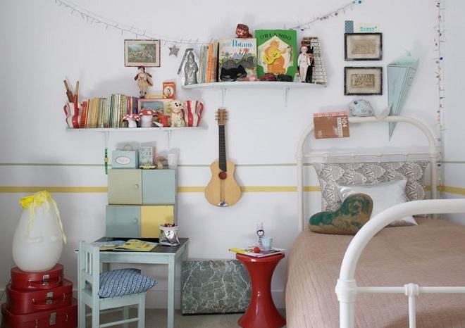 Góc học lỏm: Biến tấu phòng ngủ của bé theo phong cách vintage vô cùng hấp dẫn - Ảnh 11.