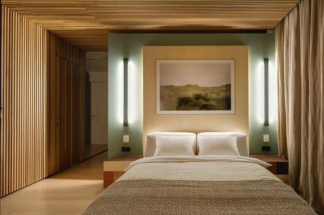7 cách trang trí đầu giường tạo điểm nhấn cho phòng ngủ - Ảnh 1.